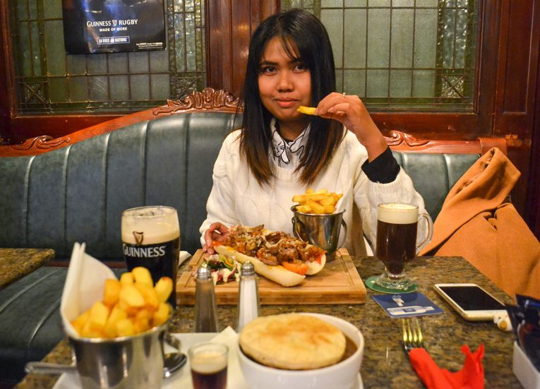 Fanfan Wilson Eating in Dublin, Traditional Northern Ireland Food and Drink