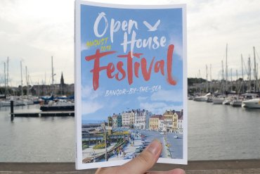 Free Booklet, Open House Festival in Bangor Northern Ireland
