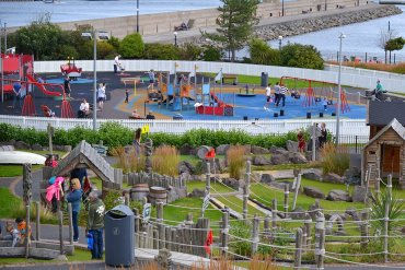 Seaside Play Park, Pickie Fun Park in Bangor Northern Ireland