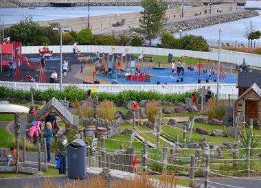 Seaside Play Park, Pickie Fun Park in Bangor Northern Ireland
