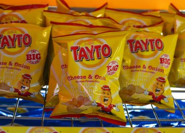 Tayto Cheese and Onion, Traditional Northern Irish Food in Bangor