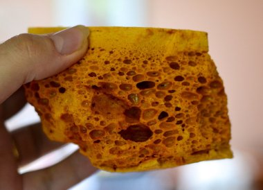 Yellowman Honeycomb, Traditional Northern Irish Food in Bangor