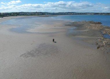 Empty Sand Beach, Bangor to Groomsport, North Down Coastal Path. Northern Ireland