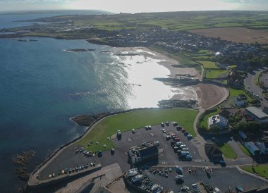 Groomsport Beach, Bangor to Groomsport, North Down Coastal Path. Northern Ireland