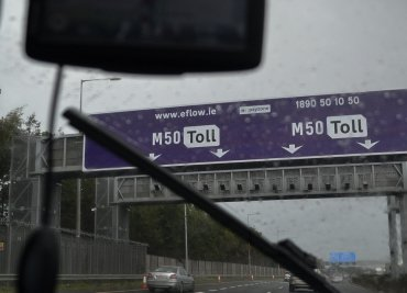 Pay the M50 Toll Fine Dublin Ireland