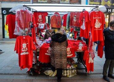 Christmas Market, Christmas in Dublin City Centre Ireland