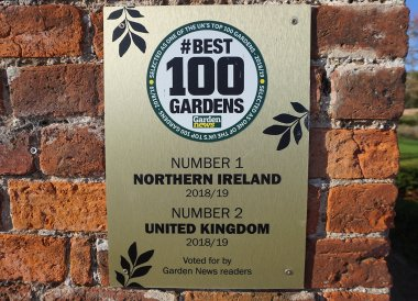 Award Winning Gardens, Bangor Castle Walled Garden Bangor N Ireland