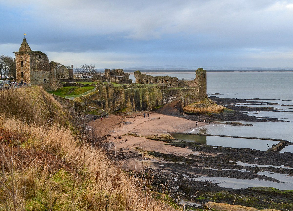 Saint-Andrews Seafront, Best Places to Visit in Scotland