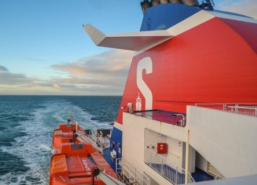 Stena line to Scotland for Scotland Road Trip in Scottish Highlands in Winter Snow