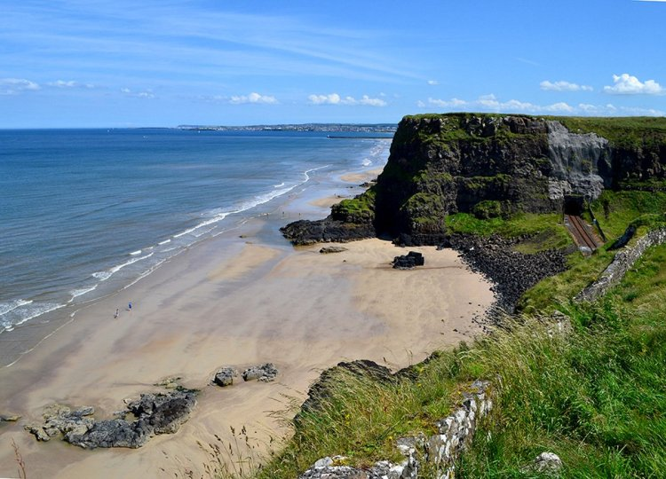 Cliffs-and-Beaches, GIants Causeway Coastal Route, Northern Ireland