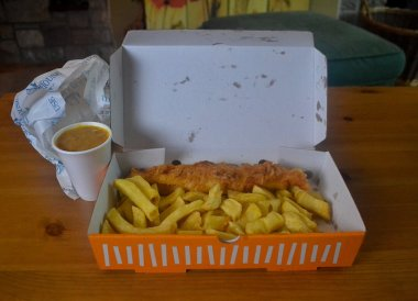 Fish and Chips from Salt House Bangor Best Takeaway Food in Northern Ireland