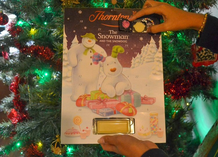 Chocolate Advent Calendar, Traditions of Christmas in Northern Ireland, Bangor NI
