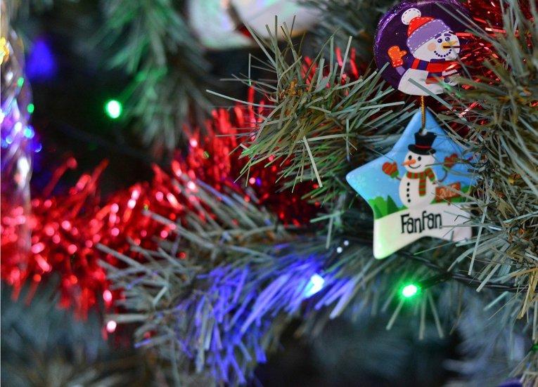Peronalised Baubles, Traditions of Christmas in Northern Ireland, Bangor NI