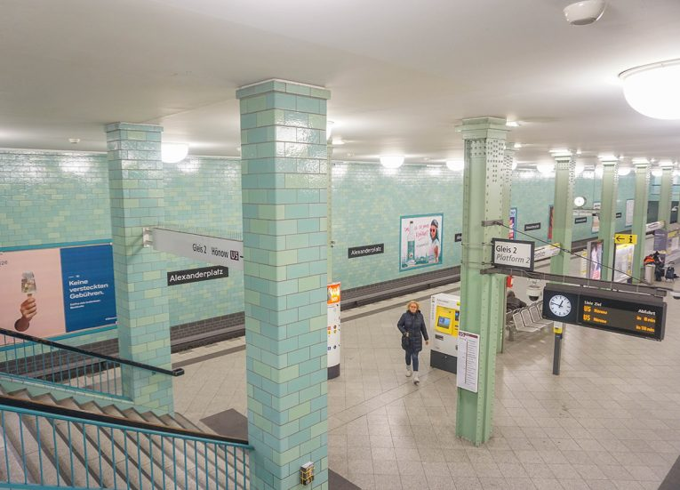 Alexanderplatz Subway Station, Interrail in Winter: Train Travel in Europe Itinerary