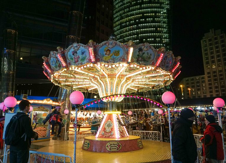 Winter World on Potsdamer Platz, Interrail in Winter: Train Travel in Europe Itinerary