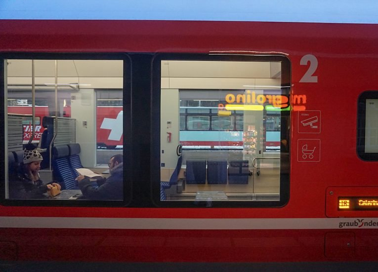 SBB Trains in Switzerland, Interrail in Winter Train Travel in Europe