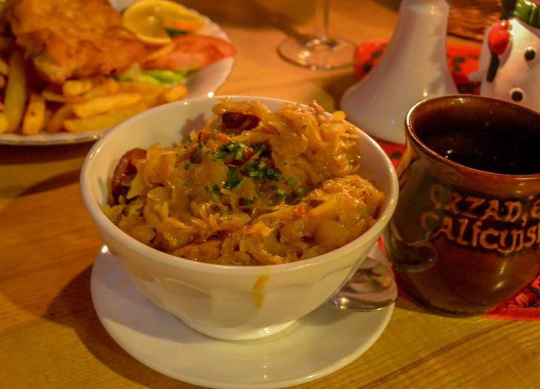 Sour Bigos Traditional National Dish of Poland Europe