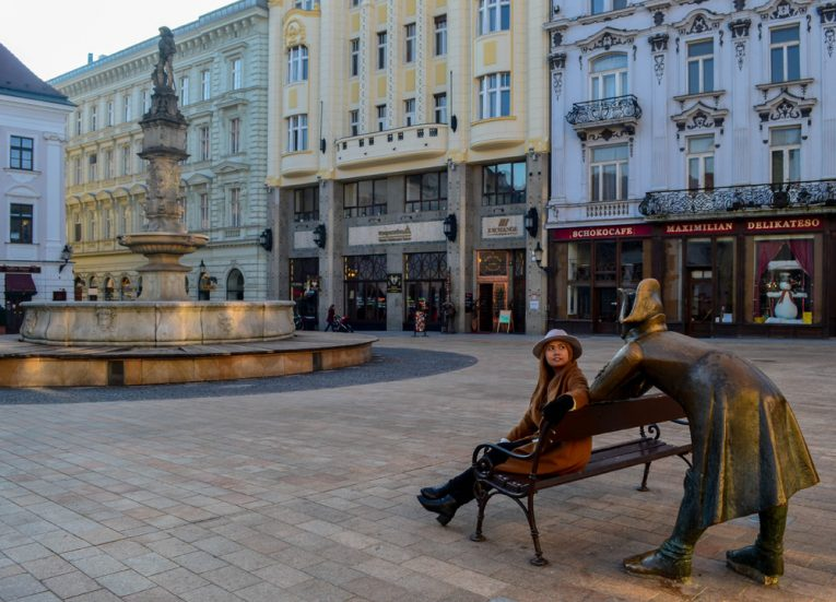 Bratislava-Old-City-Slovakia Europe Road Trip in Winter Itinerary
