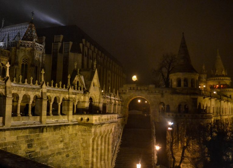 Buda-of-Budapest-in-Snow-Winter-Road-Trip-in-Europe