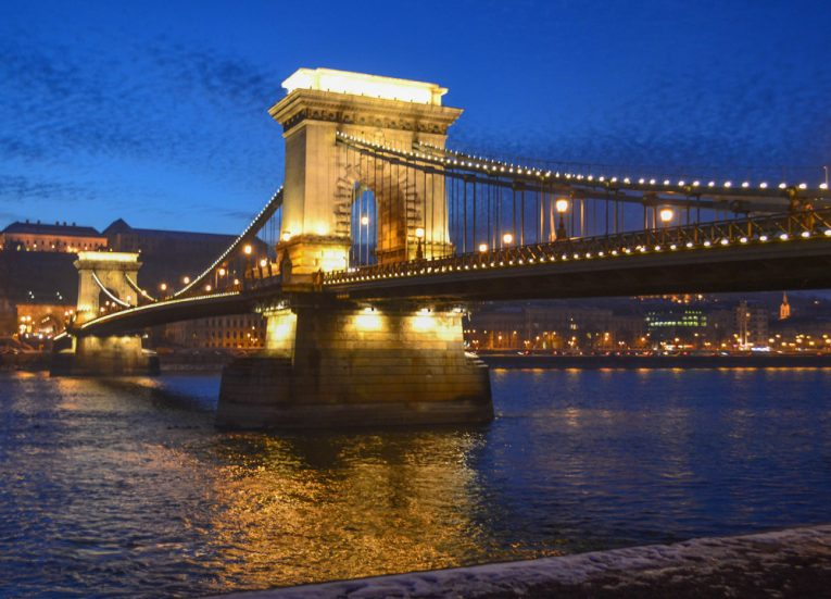 Budapest-Riverside-in Hungary-Europe Road Trip in Winter Itinerary