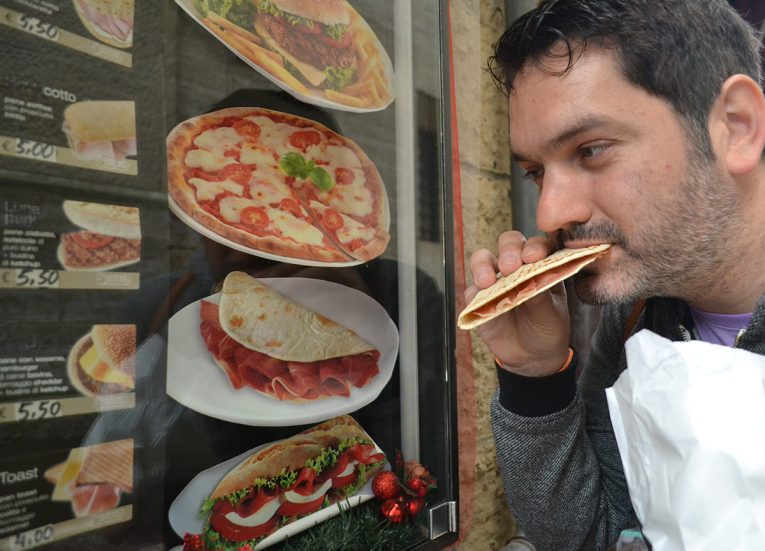 Piada Piadina, San Marino National Dish. List of Traditional Foods in Europe