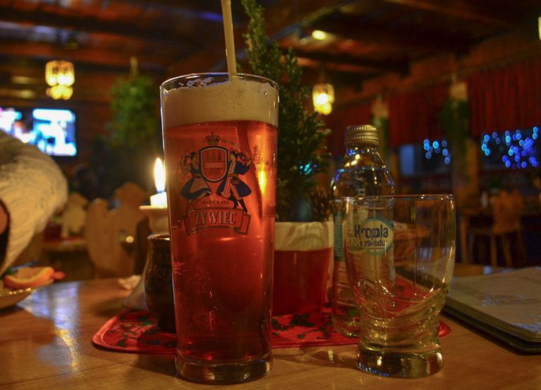Winter Beers in Zakopane Poland Drinking Alcohol in Europe