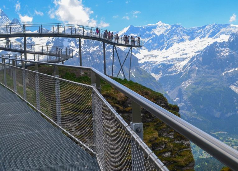 First Cliff Walk on 3-Day Jungfrau Travel Pass on Jungfrau Railway