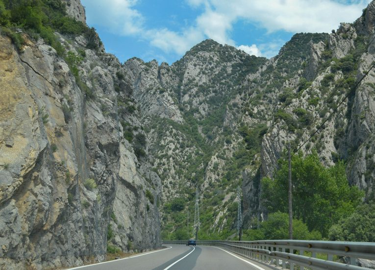Spanish Pyrenees Roads to Alquezar Huesca Northern Spain