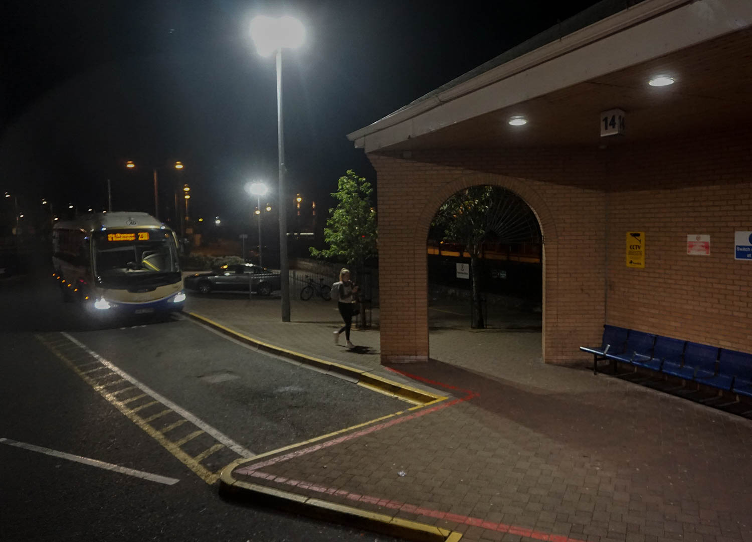 Newry Bus Centre, Travel from Dublin Airport to Belfast by Bus.