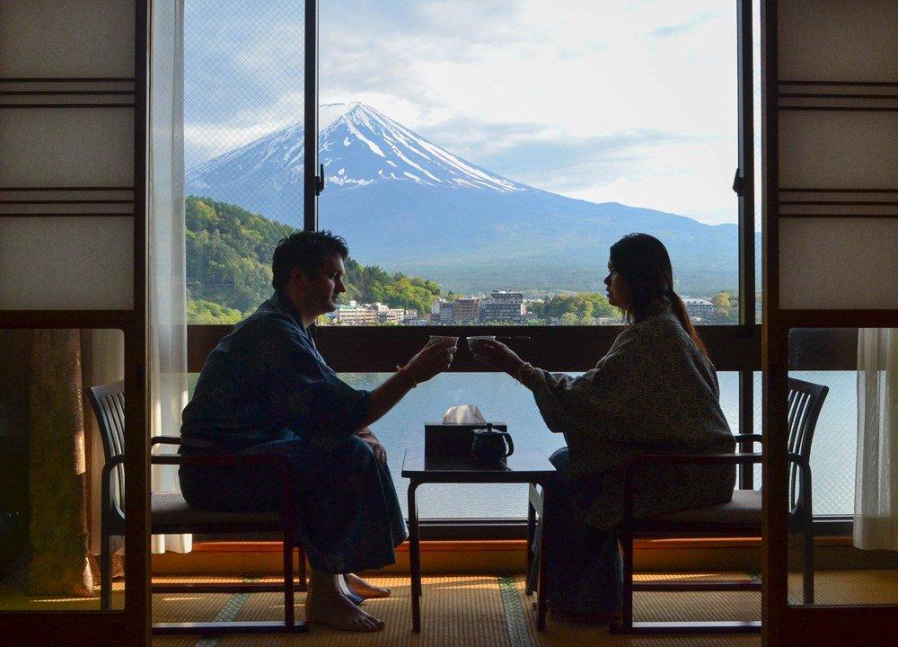 Allan Wilson Mount Fuji Japan. Northern Irish Travel Blogger. Bangor.