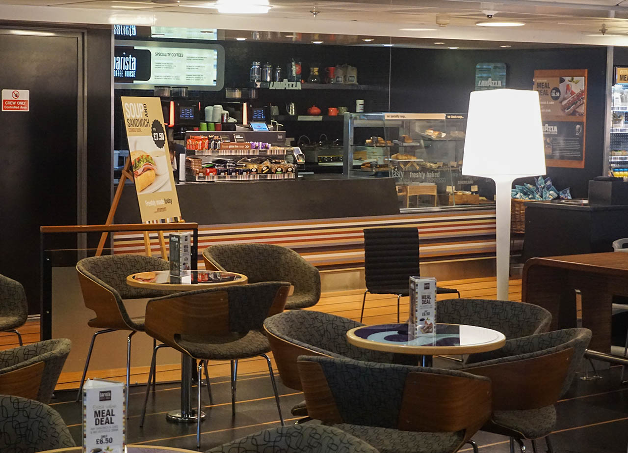 Restaurant and Bar on Belfast to Cairnryan for Stena Line Day Tour to Scotland