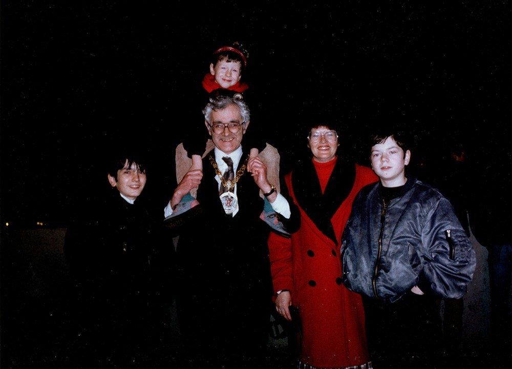 Brian Wilson Family in Bangor Northern Ireland. Travel Blogger
