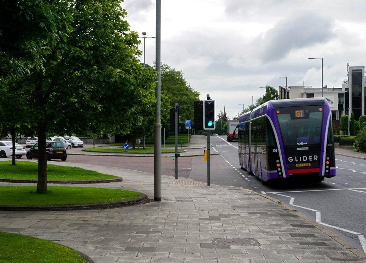 Belfast Glider East Belfast (BRT) Belfast Rapid Transit