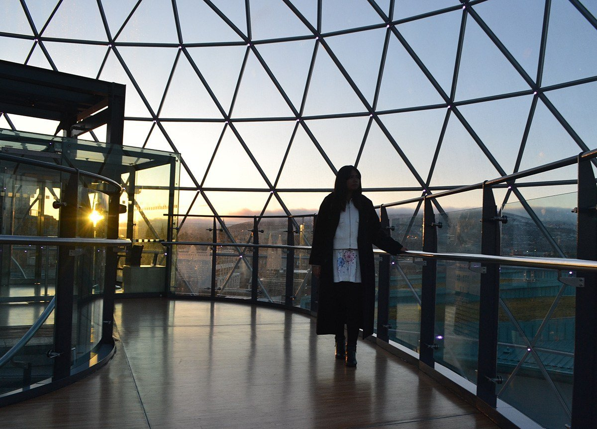 Best Viewpoint in Belfast. Victoria Square Dome. 360° Panoramic Views views Belfast