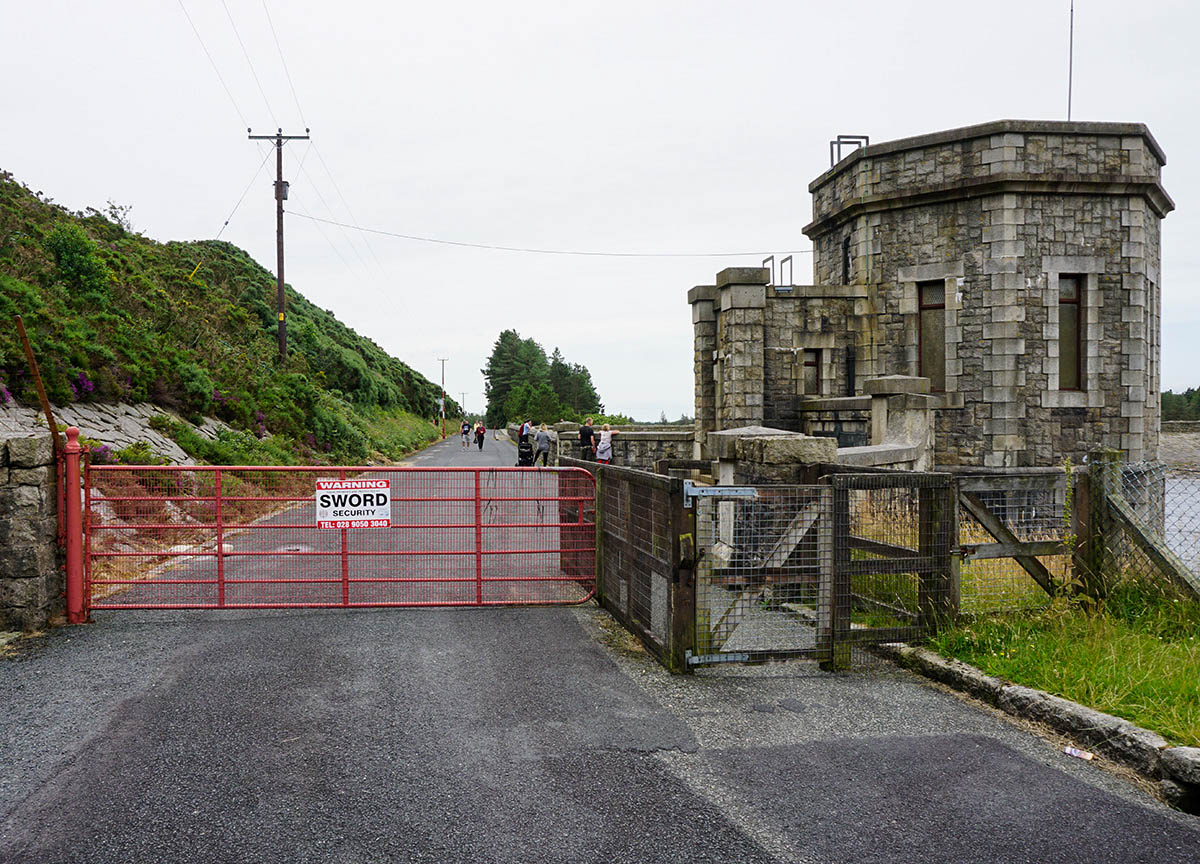 Entrance Gate to Silent Valley Walking Trail Co Newry