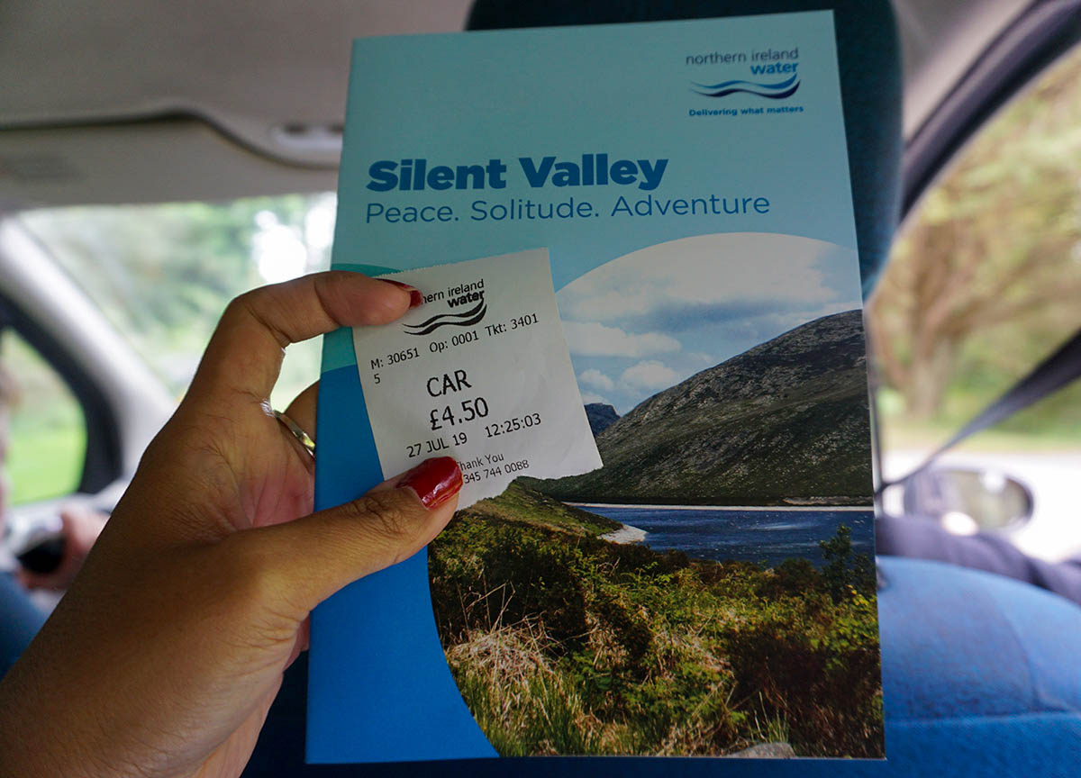 Entry and Free Maps to Silent Valley and Ben Crom Dam