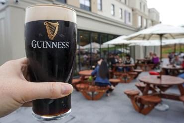 Guinness at Premier Inn Bangor Northern Ireland Hotel