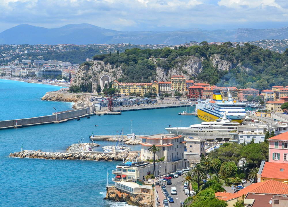 Nice Harbour, French Riviera, Road Trip in Southern France