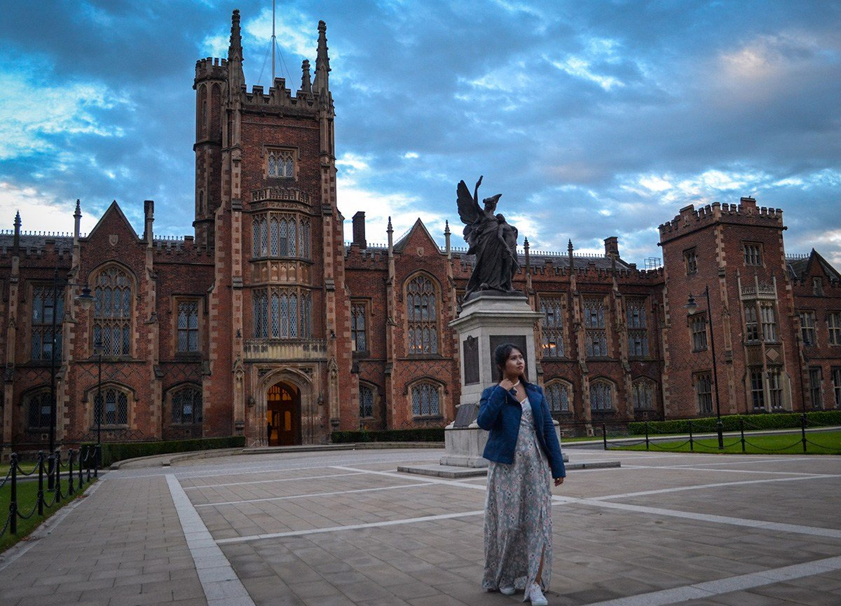 Queens University/Botanic Avenue. Things to do in Belfast Northern Ireland