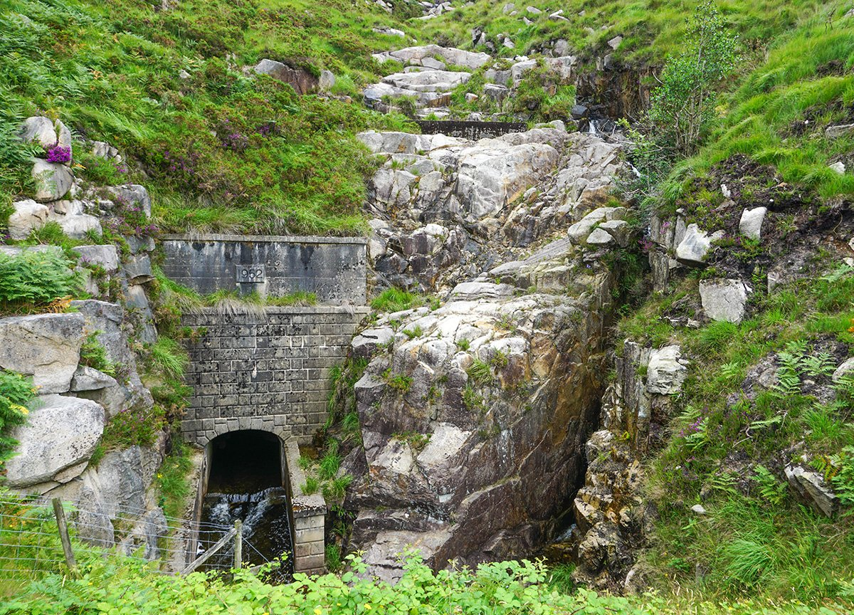 Slieve Binnian Tunnel Silent Valley to Ben Crom Reservoir Mournes