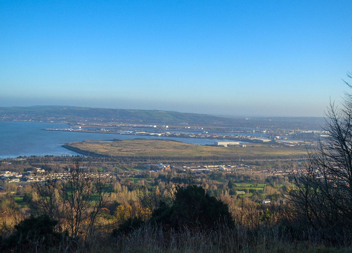 Views Over Strangford Lough from Cave Hill