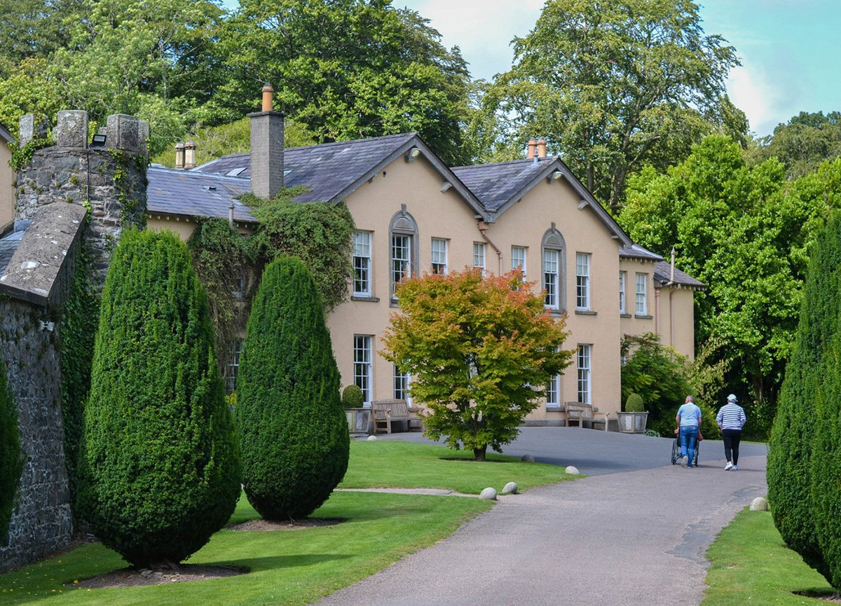 Front Entrance of Rowallane Gardens Ballynahinch Northern Ireland