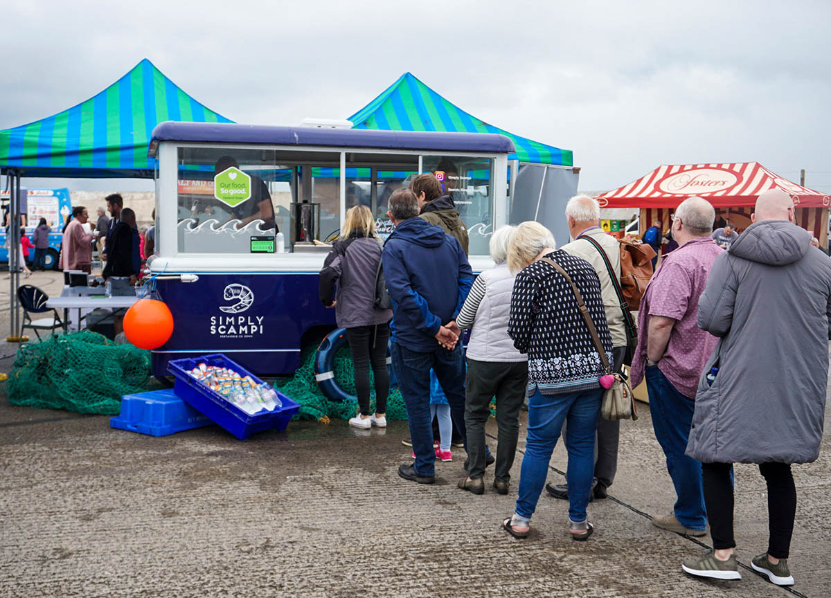Simple Scampi Food Truck at the Portavogie Seafood Festival