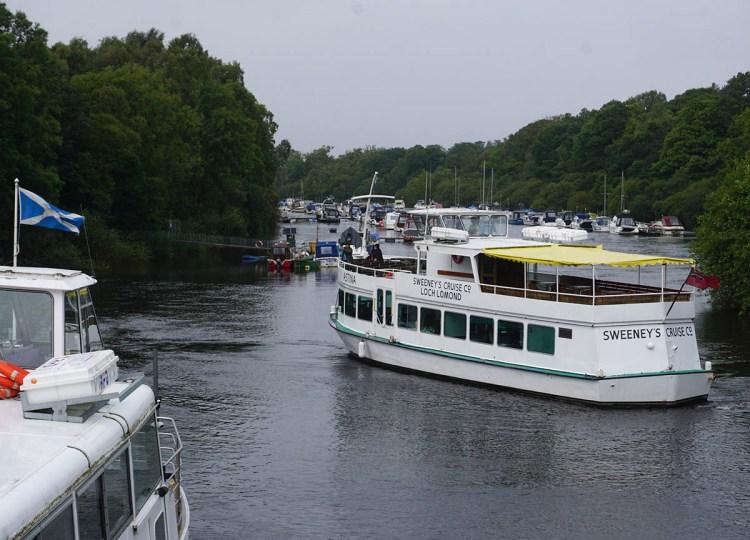 Loch Lomond Boat Cruises with Sweeneys Cruises in Scotland