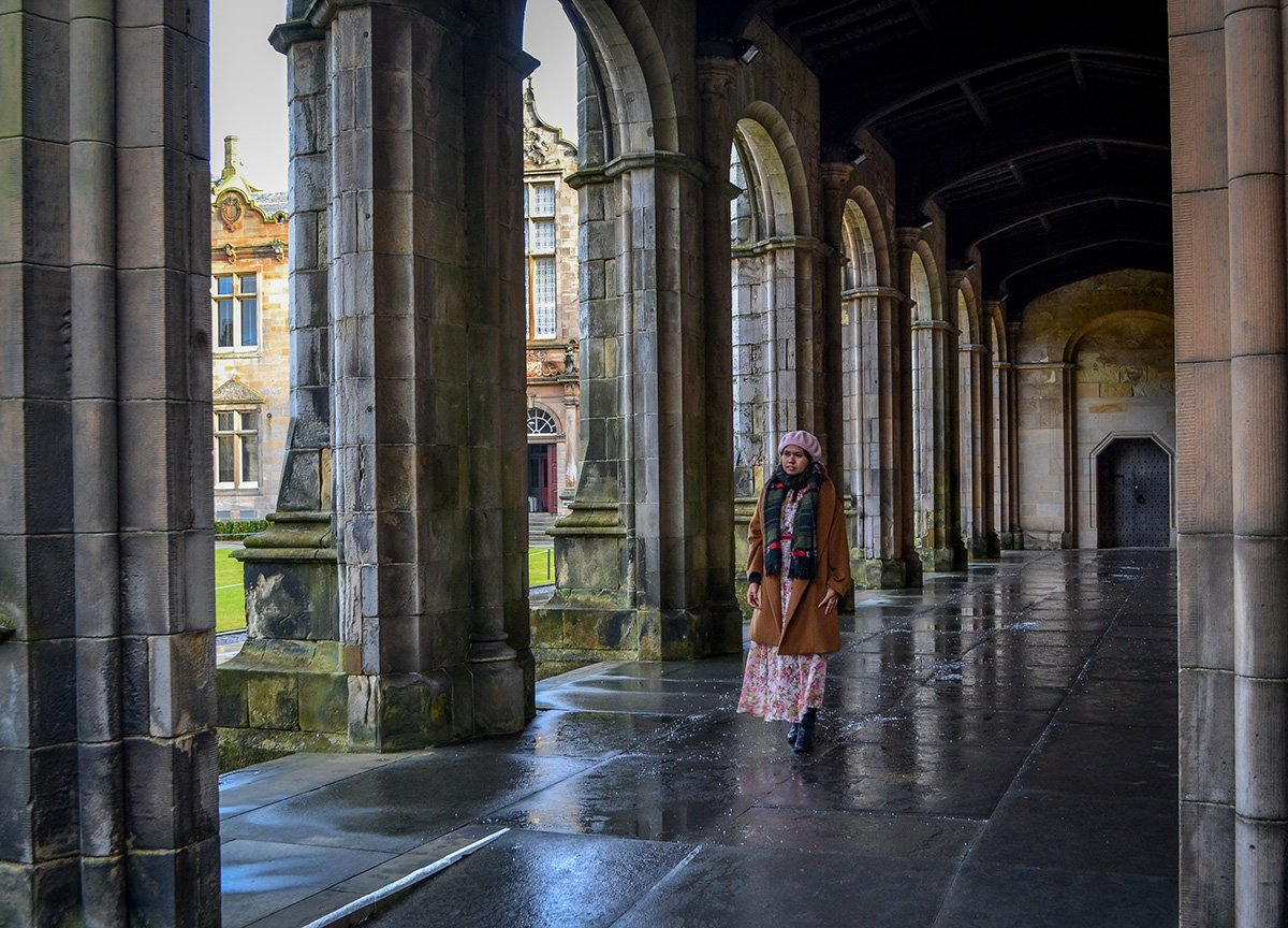 Saint Andrews University on Road Trip in Scotland from Northern Ireland