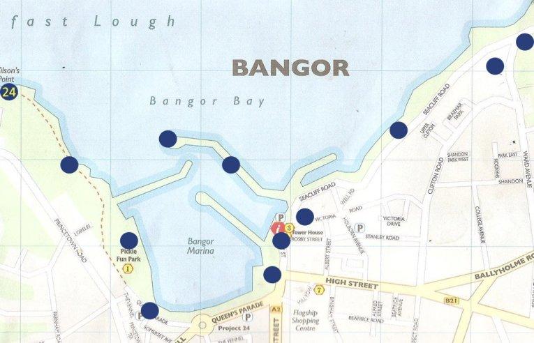 Coastal Path Treasure Hunt in Bangor Northern Ireland