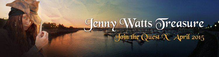 Jenny Watts Treasure Hunt in Bangor Northern Ireland