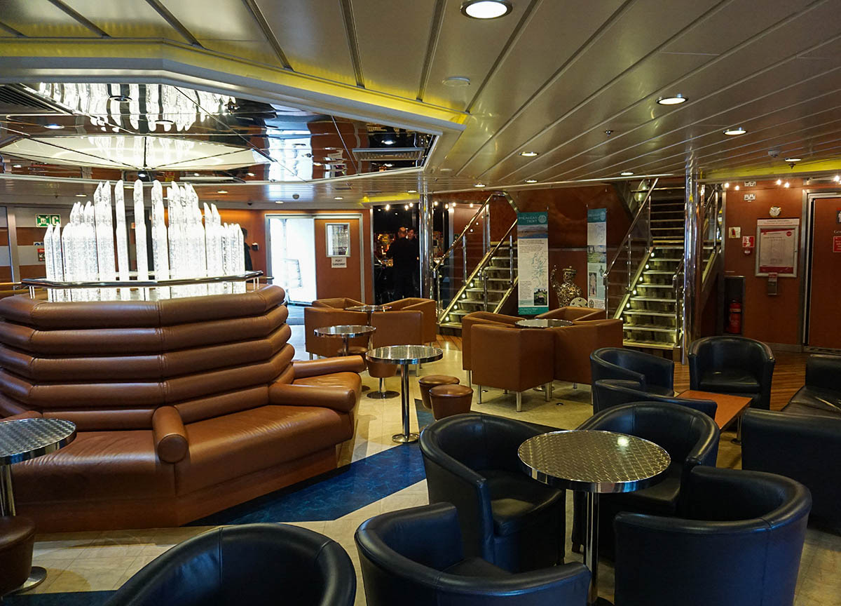 Seating and Interiors of Islay Ferry from Kennacraig Kintyre (5)