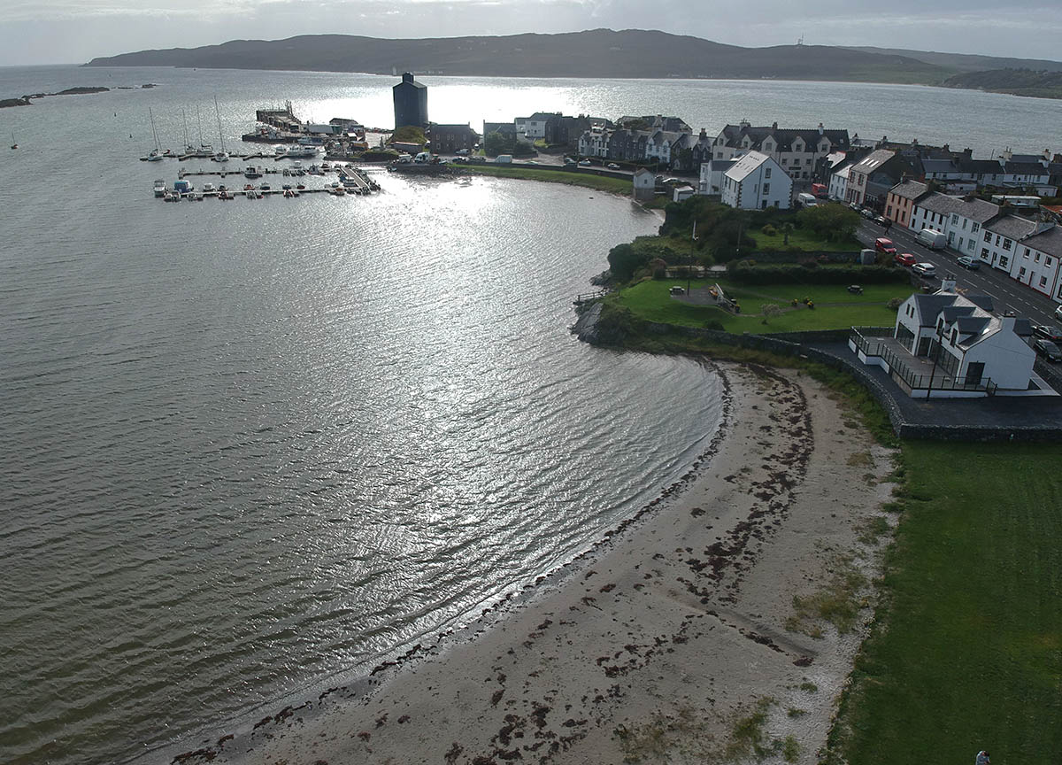 Sunset-at-Port-Ellen-Islay-Ferry-from-Kennacraig-Kintyre