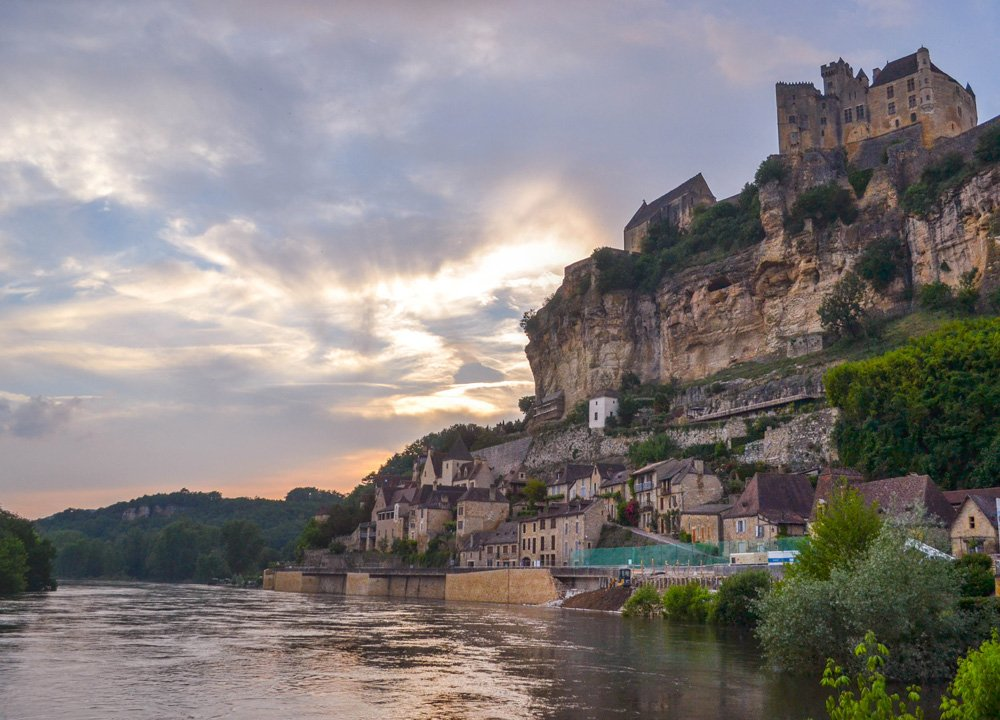 Beynac Castle on the Dordogne River Valley